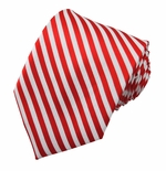 Candy Cane Stripe Ties  (Various Sizes Available for Men & Boys)