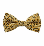 Cheetah Print Bow Tie (Various Sizes for Men & Boys)