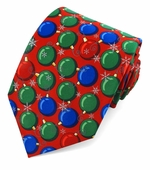 Christmas Balls Ties / Red