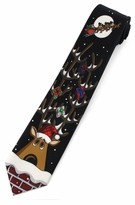 Christmas Reindeer Ties / Black