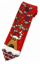 Christmas Reindeer Ties  / Red