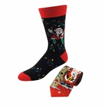 Christmas Santa & Reindeer Tie & Sock Set