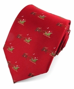 Christmas Santa's Ride Ties