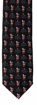 Christmas Santa Ties / Black