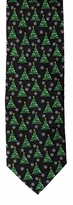 Christmas Trees Ties / Black