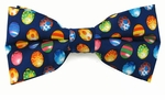 Colored Easter Eggs Bow Ties  (Various Sizes Available for Men & Boys)