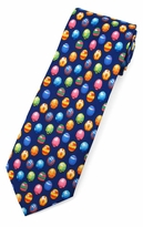 Colored Easter Eggs Tie  (Various Sizes Available for Men & Boys)