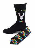 Happy Easter Tie & Socks Set
