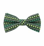 Happy St. Patrick's Day Bow Ties (Sizes for Men & Boys)
