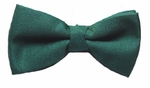 Hunter Green Woven Band Bowtie