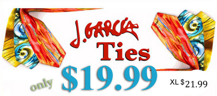 Sale on Jerry Garcia Ties