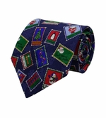 Inspiration Stamps Christmas Tie / Navy