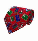 Inspiration Stamps Christmas Tie / Red