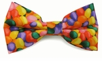 Jellybean Print Bow Ties  (Various Sizes Available for Men & Boys)