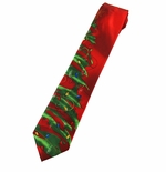 Jerry Garcia Green Tree Tie / #8088