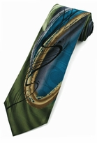 Jerry Garcia Chinese Dragon Tie / Watercolor Collection / Green
