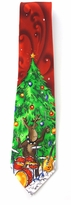 Jerry Garcia Christmas Reindeer Band Tie