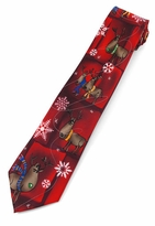 Jerry Garcia Christmas Reindeer Ties