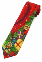 Jerry Garcia Christmas Tie #2109  - Presents under the Tree