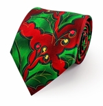 Jerry Garcia Collection Christmas Tie / Jungle Scape #8011