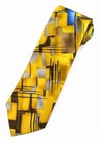 Jerry Garcia Crossroads Tie / Yellow