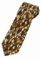 Jerry Garcia Lady w/ Argyle Socks Tie / Brown