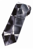 Jerry Garcia Lady w/ Argyle Socks Tie / Charcoal