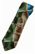 Jerry Garcia Lady w/ Argyle Socks Tie / Green