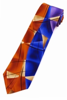 Jerry Garcia Lady w/ Argyle Socks Tie / Orange