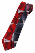 Jerry Garcia Lady w/ Argyle Socks Tie / Red