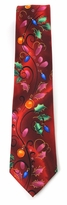 Jerry Garcia Merry Christmas Holly Trail Tie