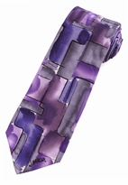 Jerry Garcia Red Room Tie / Purple