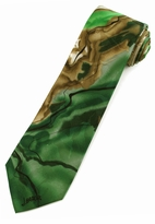 Jerry Garcia Rhino & Puppy Tie / Green