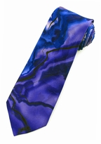 Jerry Garcia Rhino & Puppy Tie / Purple