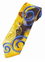 Jerry Garcia Smile Tie / Yellow