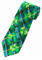 Jerry Garcia St Patricks Day Tie #8007 /  Malachite Valley