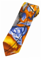 Jerry Garcia Still Life Tie / Yellow