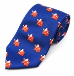 Jolly Ole Santa Pattern Tie (Various Sizes Available for Men & Boys)