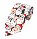 Jolly Santa Tie (Various Sizes Available for Men & Boys)