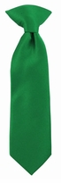 Kelly Green 8 inch Infant/Toddler Clip on Tie