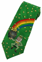 Leprechaun's Pot of Gold Neckties
