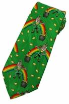 Leprechauns and Gold Neckties
