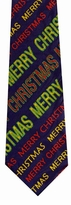 Merry Christmas Repeat Tie