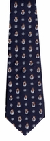 Navy Snowman Magic Tie