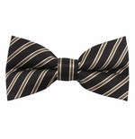 Oakwood Stripe Bow Tie (Men's & Boys Styles)