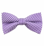 Purple Picnic Bow Tie (Men's & Boys Styles)