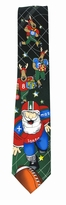 Santa Football League Tie / Green