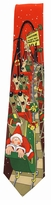 Santa's Rollercoaster Adventure Tie / Red