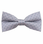 Silver Sprinkles Bow Tie (Men's & Boys Styles)