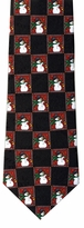 Snowmen Checkered Pattern